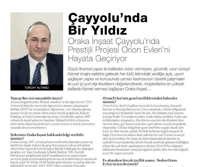 Mag Nisan 2014 Dergi Röportajı