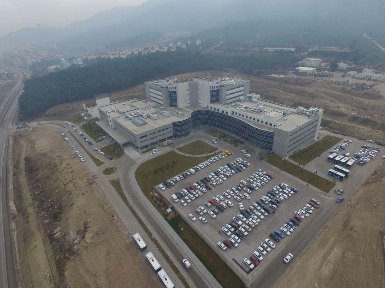 TOKİ Manisa Soma 300 Yataklı Devlet Hastanesi